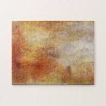 Joseph Mallord Turner - Sun setting over a lake Jigsaw Puzzle