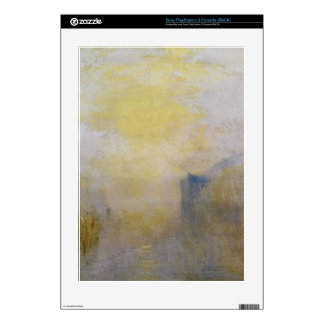 Joseph Mallord Turner - Sunrise boat between headl PS3 Console Decals