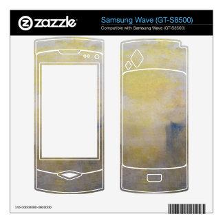 Joseph Mallord Turner - Sunrise boat between headl Samsung Wave Decal