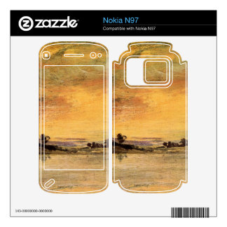 Joseph Mallord Turner - Sunrise on the river Decals For The Nokia N97