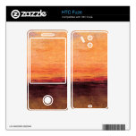 Joseph Mallord Turner - Sunset HTC Fuze Decals