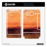 Joseph Mallord Turner - Sunset Skins For HTC Desire HD