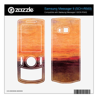 Joseph Mallord Turner - Sunset Samsung Messager II Decal