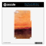 Joseph Mallord Turner - Sunset Decals For iPod Touch 4G