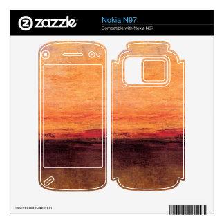 Joseph Mallord Turner - Sunset Skins For Nokia N97