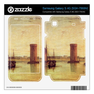 Joseph Mallord Turner - Tabley calm day Samsung Galaxy S 4G Decal