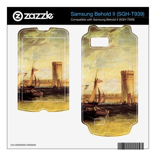 Joseph Mallord Turner - Tabley Windy day Samsung Behold II Skins