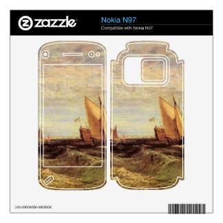 Joseph Mallord Turner - Thames at the Medway Decal For Nokia N97