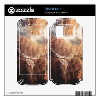Joseph Mallord Turner - The Devils Bridge St Gotth Skins For Nokia N97
