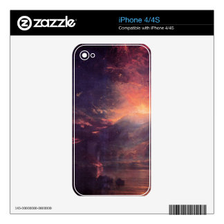Joseph Mallord Turner - The eruption of volcano So iPhone 4S Decals
