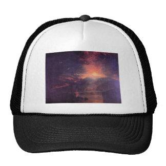 Joseph Mallord Turner - The eruption of volcano So Trucker Hat