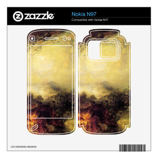 Joseph Mallord Turner - The evening of the tsunami Nokia N97 Decal