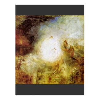 Joseph Mallord Turner - The fisherman of Naples Postcard