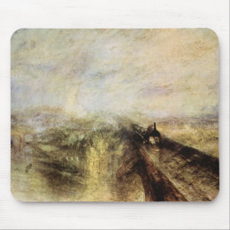 Joseph Mallord Turner - The great western railway Mouse Pad