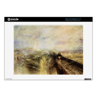 Joseph Mallord Turner - The great western railway Skin For Acer Chromebook
