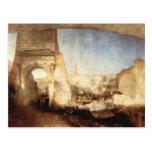 Joseph Mallord Turner - The Roman Forum for Mr Soa Postcard