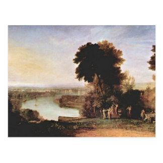 Joseph Mallord Turner - Thompsons Harp Postcard