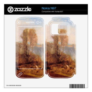 Joseph Mallord Turner - Tivoli castle Nokia N97 Decals