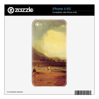 Joseph Mallord Turner - Trout fishing Skins For The iPhone 4S