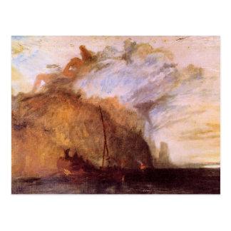 Joseph Mallord Turner - Ulysses scolding Polyphemu Postcard