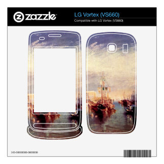 Joseph Mallord Turner - Venice from the porch of M Skins For LG Vortex