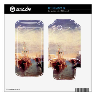 Joseph Mallord Turner - Venice from the porch of M Decals For HTC Desire S