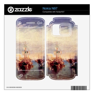 Joseph Mallord Turner - Venice from the porch of M Nokia N97 Skin