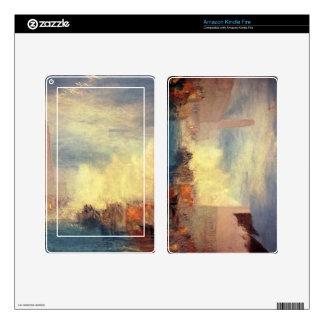 Joseph Mallord Turner - Venice the Piazetta Kindle Fire Skins