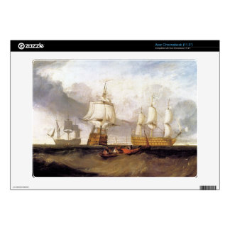Joseph Mallord Turner - Victory in Trafalgar Decal For Acer Chromebook