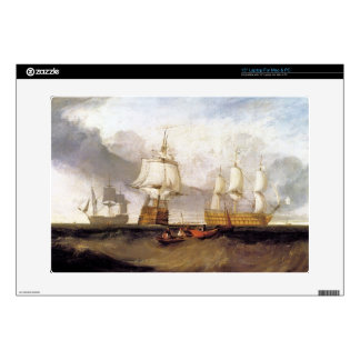 Joseph Mallord Turner - Victory in Trafalgar Decal For Laptop
