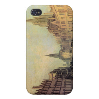 Joseph Mallord Turner - View the High Street Oxfor iPhone 4 Cases
