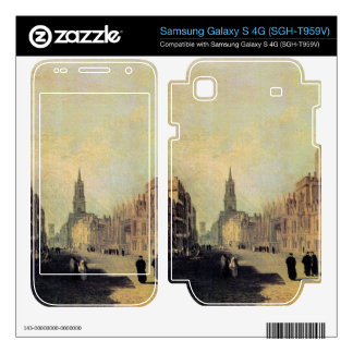 Joseph Mallord Turner - View the High Street Oxfor Samsung Galaxy S 4G Skin