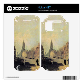 Joseph Mallord Turner - View the High Street Oxfor Decal For The Nokia N97
