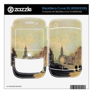 Joseph Mallord Turner - View the High Street Oxfor BlackBerry Curve 3G Skin