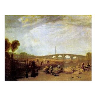 Joseph Mallord Turner - Walten bridges Postcard