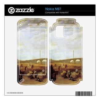 Joseph Mallord Turner - Walten bridges Nokia N97 Decals