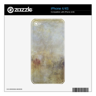 Joseph Mallord Turner - Water Fete in Venice Decal For iPhone 4