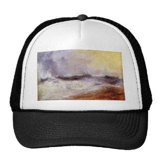 Joseph Mallord Turner - Waves breaking against the Trucker Hats