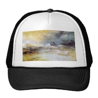 Joseph Mallord Turner - Waves breaking on a lee sh Trucker Hats