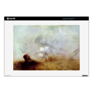 Joseph Mallord Turner - Whalers Laptop Skin