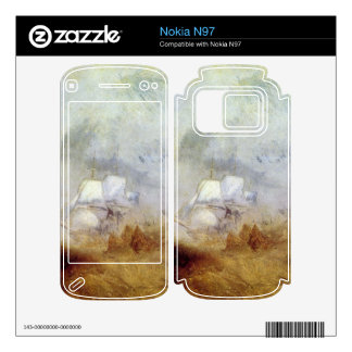 Joseph Mallord Turner - Whalers Decal For The Nokia N97