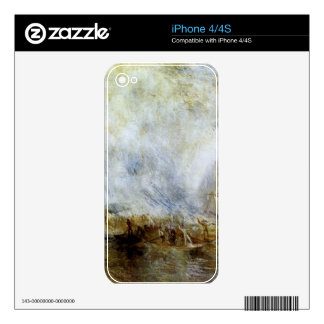 Joseph Mallord Turner - Whalers Skin For The iPhone 4S