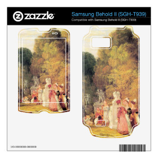 Joseph Mallord Turner - What you will Samsung Behold II Decals