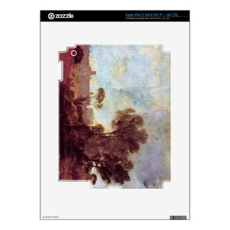 Joseph Mallord Turner - Windsor Castle from Salt h Decals For iPad 3