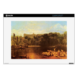 Joseph Mallord Turner - Windsor castle from the Th Laptop Decals