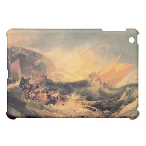 Joseph Mallord Turner - Wreck of a transport ship iPad Mini Case