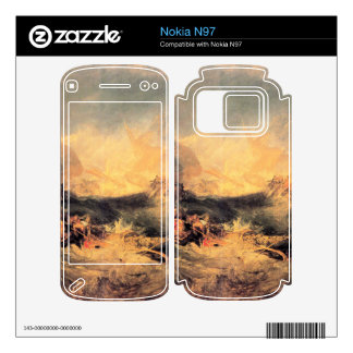 Joseph Mallord Turner - Wreck of a transport ship Decals For Nokia N97