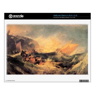 Joseph Mallord Turner - Wreck of a transport ship Skin For Medium Netbook