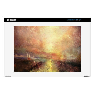 """Joseph Mallord Turner - Yacht approaching the coas Decals For 13"""" Laptops"""