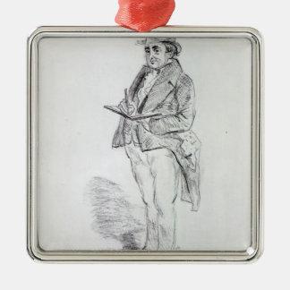 Joseph Mallord William Turner, 1844 Metal Ornament